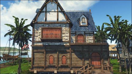Как построить дом в ArcheAge